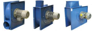 Ventilatoren (geschlossenes Laufrad, max. 5000 Pa)