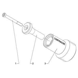 Ersatzteile für Rohrinnenstrahldüse PTC-360