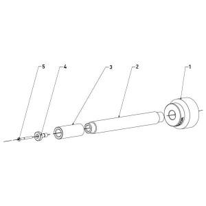Ersatzteile für Contracor Rohrinnenstrahldüse PTC-360L