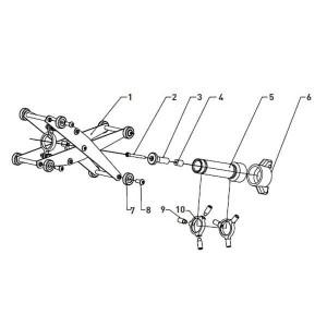 Ersatzteile Rohrinnenstrahlgerät PBT-1