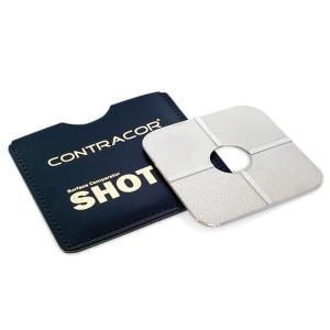 Oberflächen-Vergleichsscheibe Shot