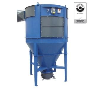 Zyklon-Filteranlage ACF/W3 (bis max. 22500 m³/h, 5 kPa)