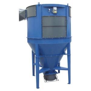 Zyklon-Filteranlage ACF (bis max. 40000 m³/h, 5 kPa)